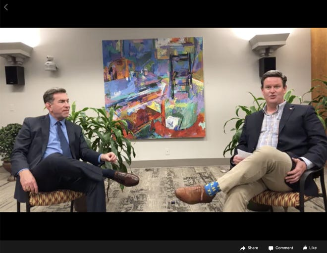 Mayor John Dailey and Dr. Jay Reeve had a conversation about how families can maintain their mental health during the coronavirus pandemic.