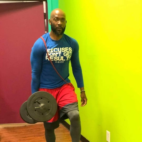 Oneil Brown is the co-founder of the OB-FIT/Mega Ace 45-Mile Challenge Group.