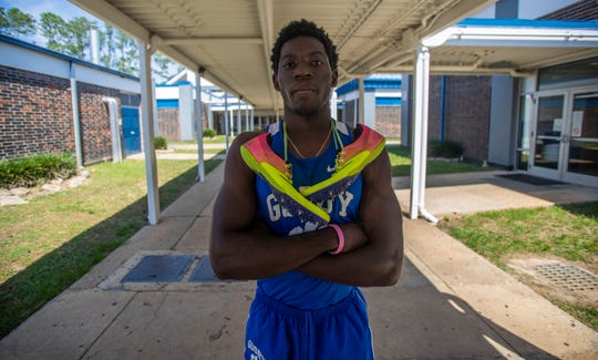 Cornelius Barnes, 18, a senior at Godby High School, was excited for his senior season of track and field. All high school spring sport seasons have been cancelled due to the coronavirus. Cornelius would like to try to walk-on for the University of Florida's track and field program.