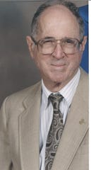 Dr. Eugene Lyon, a Vero Beach resident and former city manager, was awarded the Florida Historical Society's 2003 Jillian Prescott award for Meritorious Service in Florida History. Photo taken in 2003. He died May 3, 2020 in Vero Beach at age 91.