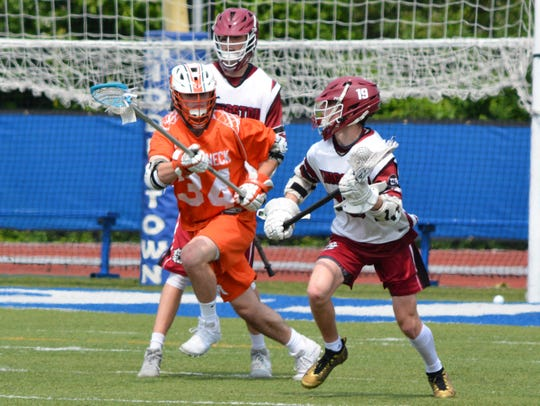 Mamaroneck defenseman Michael Bennett was heading to Fairfield before the school made a coaching change and is now planning on a PG year.