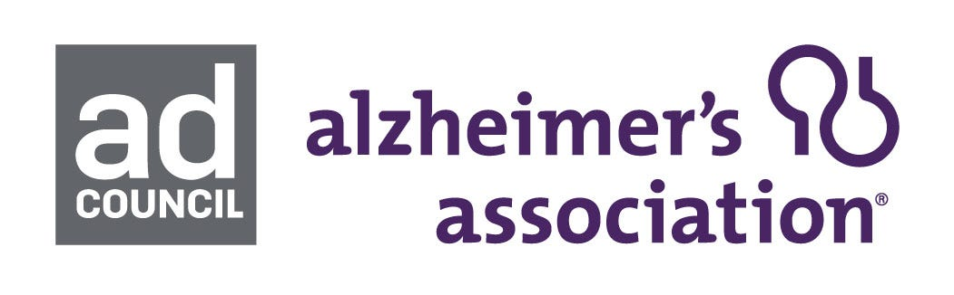 Ad Council and The Alzheimer's Association Logo