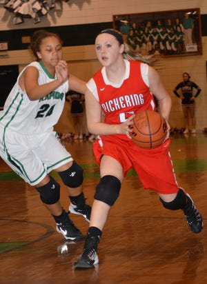 Pickering guard Sami Thomas (5) led the Lady Devils to four straight Sweet 16 appearances before playing college ball at Northwestern State.