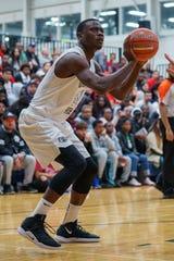 Jeff Ngandu playing for Orangeville Prep