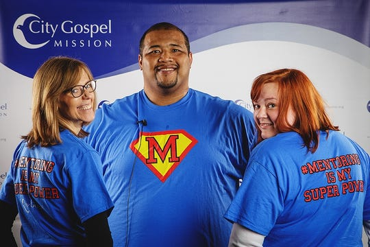 Some of the mentors at City Gospel Mission, a Top Workplace Cincinnati