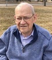 William Schroeder of Johnston spent a lifetime working for the phone company, but still found time to serve as a deacon in his church and a chaplain at two hospitals.