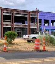 Located at the corner of Mississippi 51 and West School Street, Ridgeland's new City Hall is the first building to be constructed in the area fittingly known as City Center.