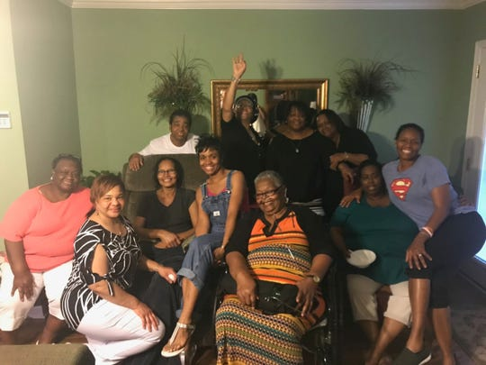 Sally Coleman always had friends and family over at her house on Sundays. Mississippi State coach Nikki McCray-Penson (far right), Coleman's first-born daughter, remembers always being there for her before Coleman died of breast cancer two years ago.