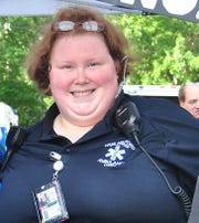 Jessica Brunner serves on the New Milford Volunteer Ambulance Corps.
