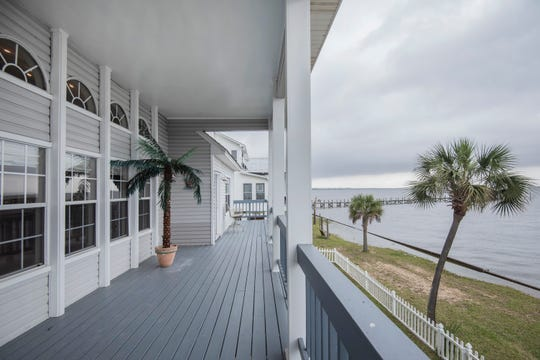 The expansive balcony is perfect when entertaining throughout the year.