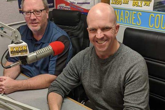 Craig Mattick (left) and John Gaskins