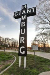A replica of the Red's Giant Hamburg sign can be found in the Birthplace of Route 66 Roadside Park, with signage explaining the restaurant's history.