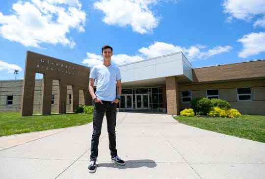 Glendale High School senior David Wells was accepted into the U.S. Naval Academy.