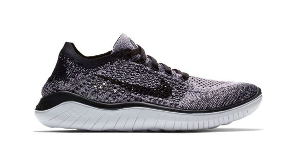 Hit the pavement in a new pair of Nike running shoes.