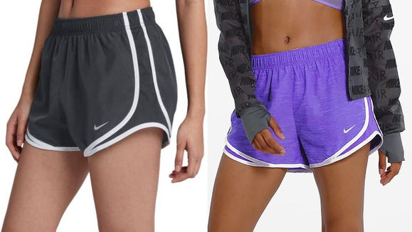 Stay loose in these well-made running shorts.