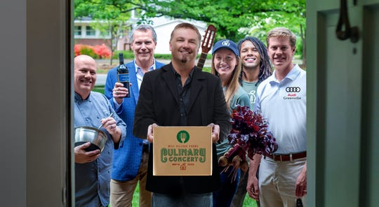 Edwin McCain and Table 301 are coming together for a virtual dinner and concert that will benefit Mill Village Farms' food assistance program, which has been greatly strained due to the coronavirus pandemic.