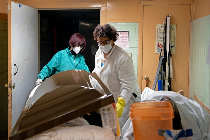 A death crisis in New Jersey. How one mortician races to keep up with COVID-19