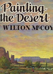 """Painting the Desert,"" Wilton McCoy's oversized how-to instructional book."