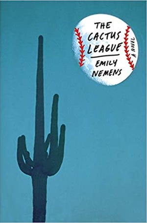 "Emily Nemens' debut novel ""The Cactus League"" about spring training in Arizona is in a way benefitting from baseball's suspension due to coronavirus as fans seek out ways to fill the baseball void."