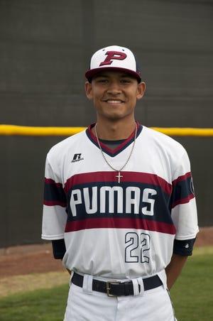 Perry baseball player Jacob Medina