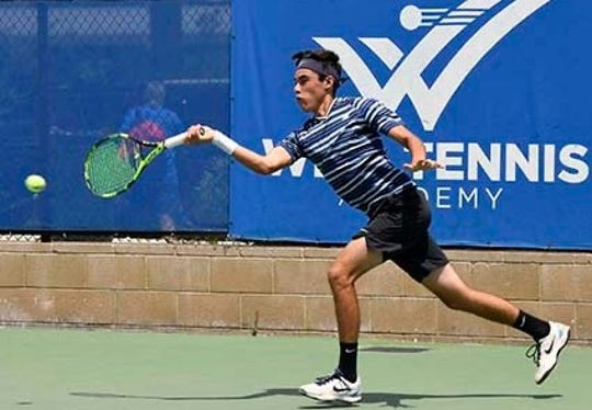 Nordhoff High senior Shawn Rothermel was looking forward to winning another league title and also competing at the prestigious Ojai tournament.