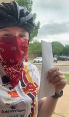 The MSU Texas cycling team, whose chance at a national title was cut short by the pandemic, is offering their services to deliver items for those not wanting to get out in public. If it can be delivered on a bicycle, the team is happy to help (requests for help can be made by email to cycling@msutexas.edu).