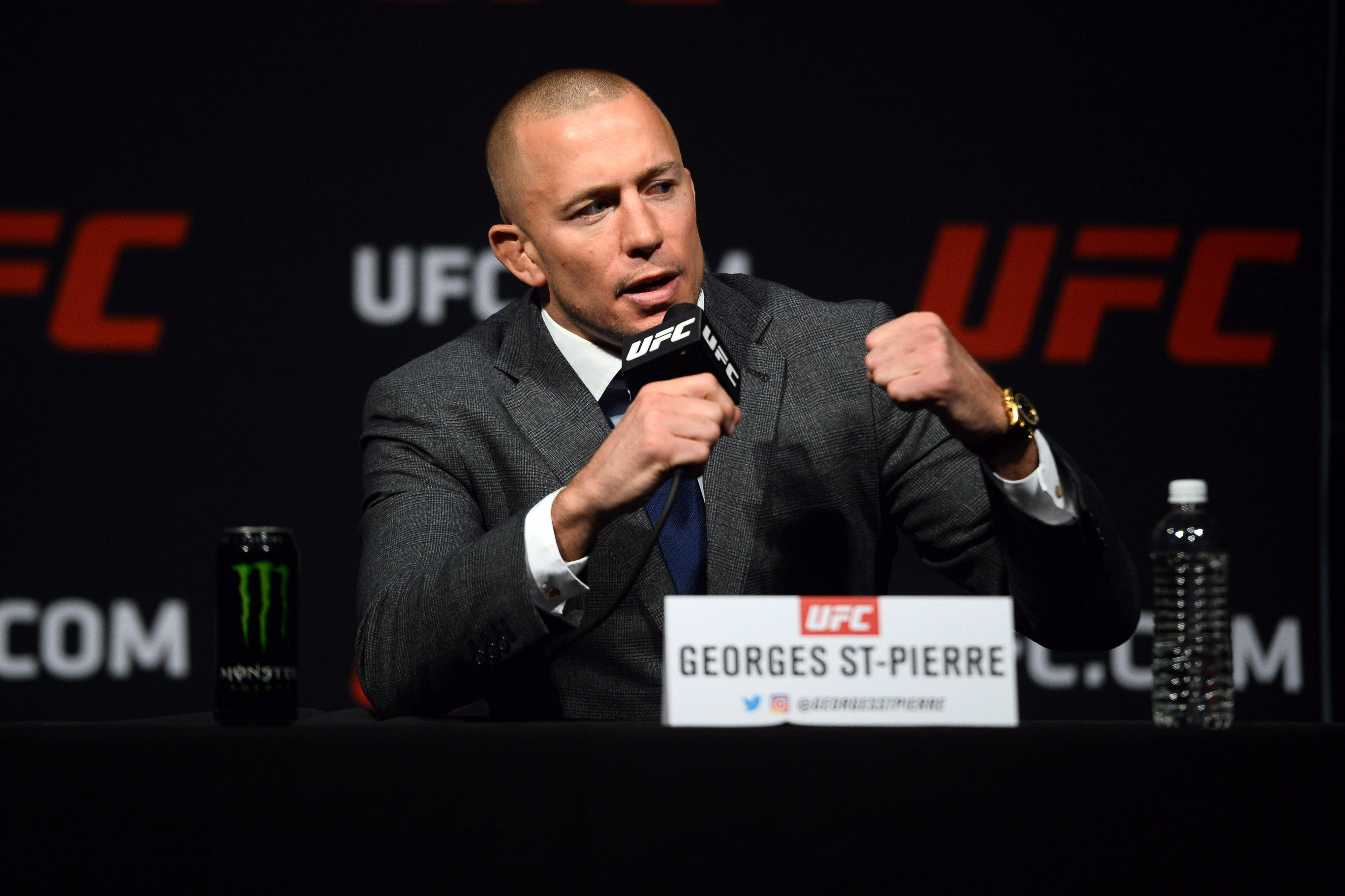 Georges St-Pierre headlines UFC s 2020 Hall of Fame class