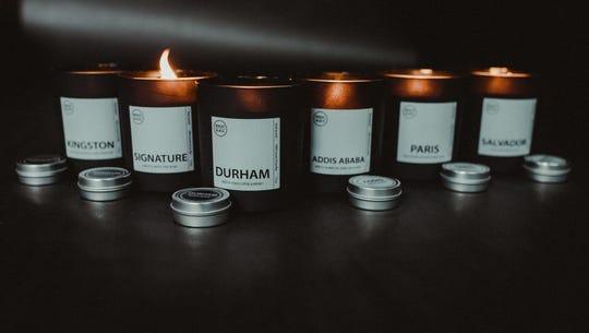 Bright Black candles