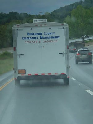 """A reader asks why Buncombe County has a """"portable morgue,"""" or more specifically, three of them. The county acquired the equipment in 2006 as part of a state push to join a federal program."""