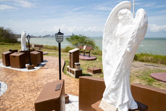 The Nueces County Victims' Memorial Garden is located at Oleander Point at Cole Park.