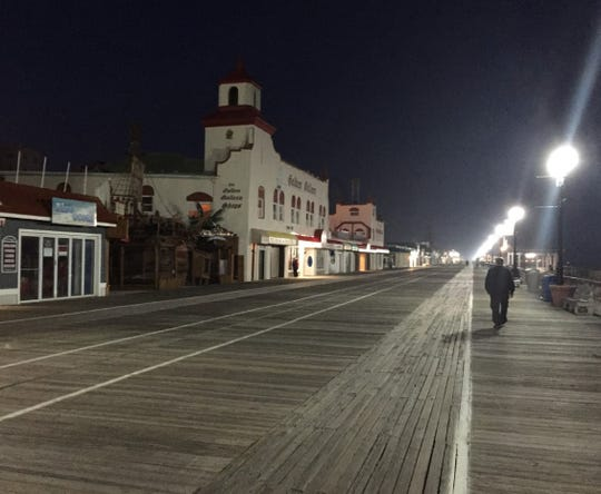 Ocean City's boardwalk, shown in an April 2018 file photo, will look more lively under new rules announced by the beach town's mayor.