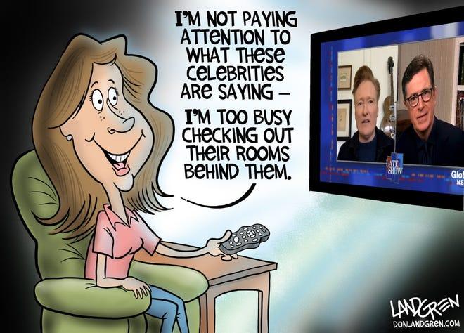 Don Landgren  editorial cartoon