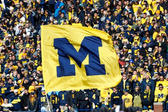 Warde Manuel said sports would not take place at Michigan without students on campus.