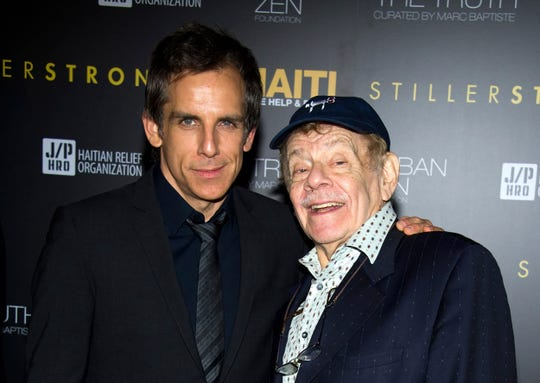 """Comedian veteran Jerry Stiller, who launched his career opposite wife Anne Meara in the 1950s and reemerged four decades later as the hysterically high-strung Frank Costanza on """"Seinfeld,"""" died at 92, his son Ben Stiller announced Monday."""