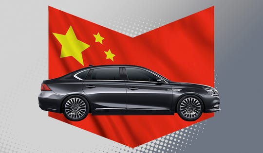 A recent quick rebound in demand suggests a V-shaped recovery has been established, China Passenger Car Association said in a statement on Monday. The GAC Motor GA8 is shown.