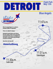Blue Angels schedule for Tuesday, May 12, 2020