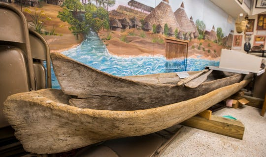The Museum of The Islands has plenty of information on boating, including a Calusa-carved canoe on display.