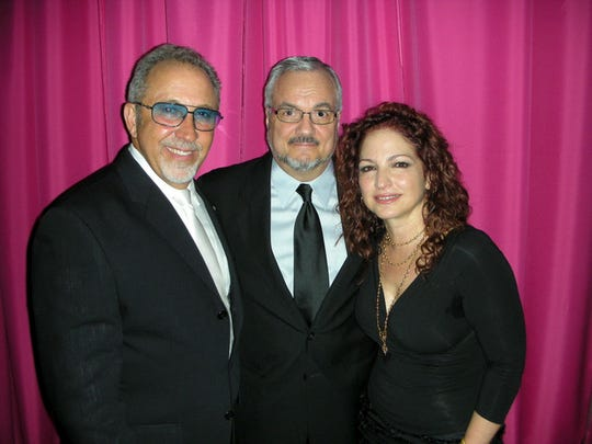 Anthony Pagano, pictured with Emilio and Glorida Estafan, has produced DVDs for the biggest names in entertainment, and live TV shows.