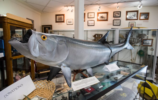 Shells, art, dolls, fishing equipment, tools, Calusa artifacts, dresses, animal fossils, books, photos and much more are displayed within the Museum of The Islands' 1,800-square-foot building.