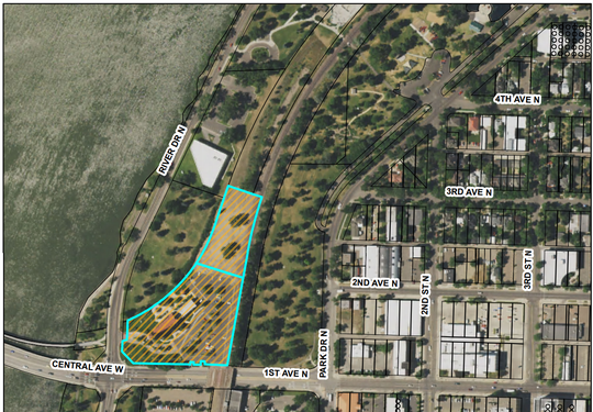 Big Sky Select Properties, LLC has proposed to build an 83-unit market rate apartment complex with a two-story, 10,000 square-foot area of commercial space that will be lightly attached to the existing Milwaukee Station Depot building located at 101 River Drive North. The Milwaukee Depot property is 3.385 acres in size, while the vacant lot to the north to be developed is 1.356 acres.