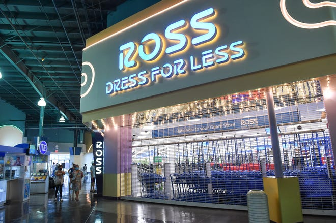 Ross Dress for Less remains closed at the Guam Premier Outlet during the mall's reopening in Tamuning on May 11, 2020.