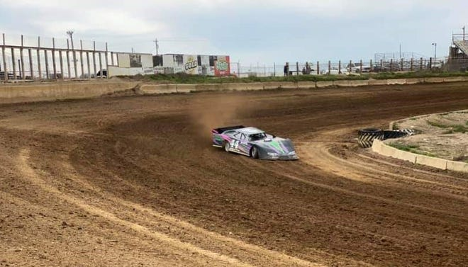 Drivers got some practice laps in last week at Daugherty Speedway before a state order stopped plans for races scheduled for Saturday, May 9. The state issued a cease-and-desist order, saying the races would have been a violation of Gov. Eric Holcomb's stay-at-home orders during the coronavirus pandemic.