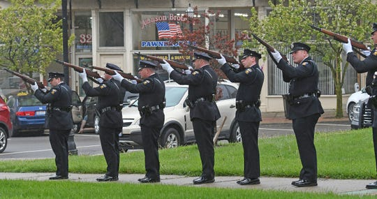 National Police Week ceremony marked with 21-gun salute