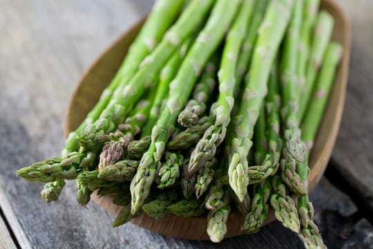Asparagus is a delicious and versatile vegetable that's in-season from April to June.