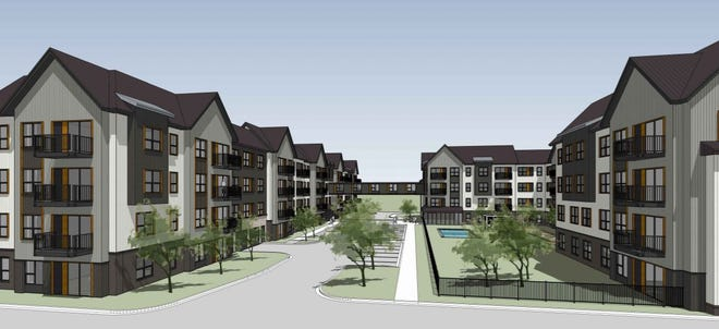 Wingspan Development Group, LLC is planning a 231-unit upscale apartment building at 355 South Moorland Road in Brookfield.