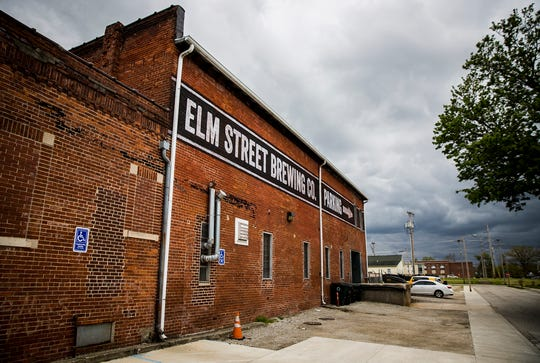 The exterior of Elm Street Brewing Co. Monday, May 11, 2020.