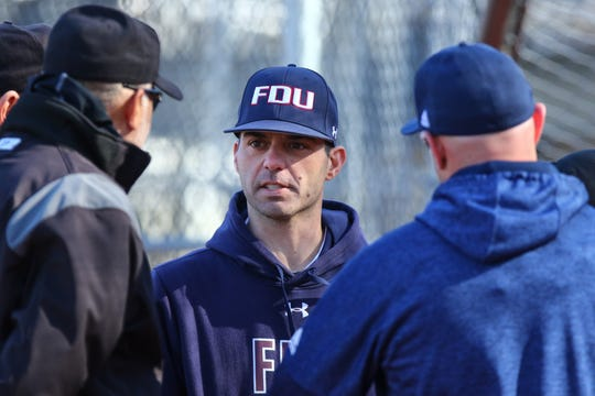 First-year FDU baseball coach Rob DiToma was hired last June to head the Division I program based out of Teaneck.