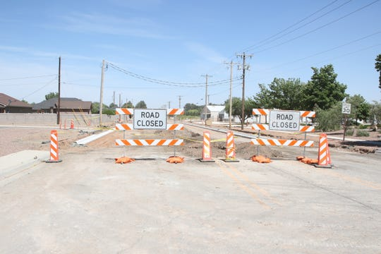 Road closed signs are expected to be seen across Eddy County soon as work is taking place on county roads in the southern and northern parts of Eddy County.