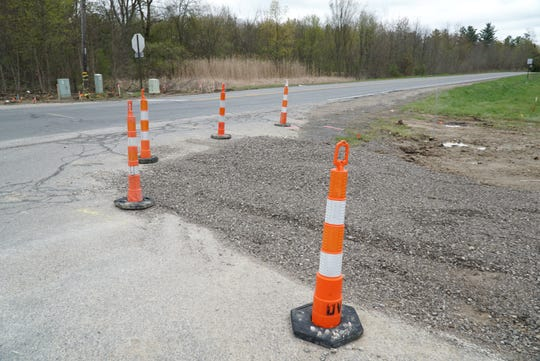 A roundabout will be constructed at this intersection in Washtenaw County - Pontiac Trail and Seven Mile - this spring.