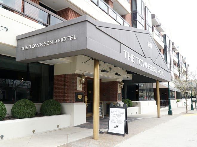 Birmingham's The Townsend Hotel.
